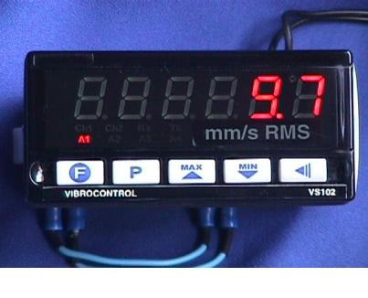 Chave vibratória microprocessada VS 102