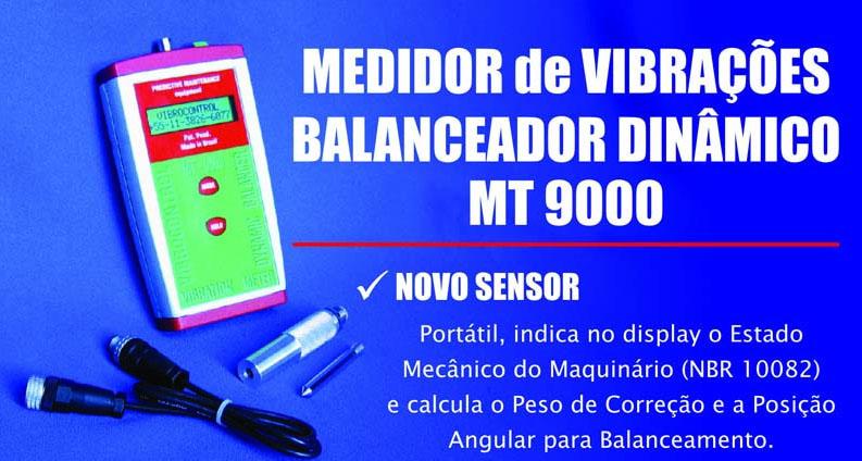 Vibrazione metro e bilanciamento dinamico MT 9000