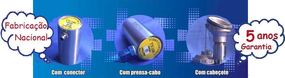 Transmissor de Vibrações de 4 a 20mA TV-100